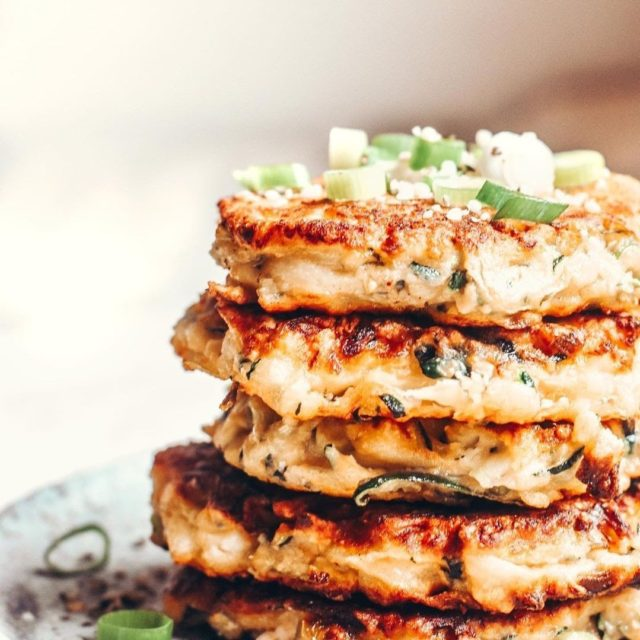 Looking for a tasty meal that can be served anytime of the day? You can't go past these Zucchini and Feta Fritters.  Ingredients: 200g Grated zucchini (approx. 2 cups). 1 Spring onion 55g Feta 1 Egg ⅓ cup wholmeal flour olive oil for frying  Method: Grate zucchini, and lightly salt. Leave to rest for 10 minutes. While you wait, slice spring onon, and whisk egg. Squeeze as much liquid from zucchini as possible. Add zucchini, egg, spring onion and feta to a bowl, and mix well. Add flour and combine until batter consistency forms. Form fritters, and shallow fry in olive oil. Pat with paper towel, and enjoy.  #lilydalechurch #lilydalesda #healthyfood
